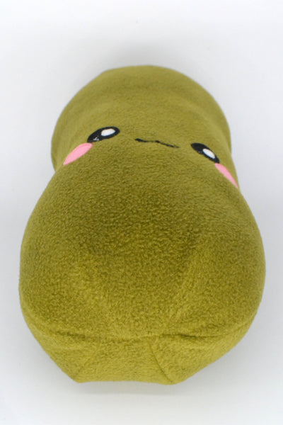 Dill Pickle plushie / decorative pillow/ novelty food cushion
