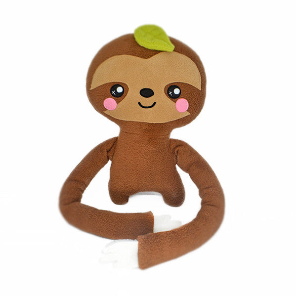 Lazy Larry the sloth plush toy
