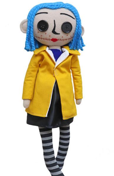 Coraline doll - handmade to order - pre-order it now!
