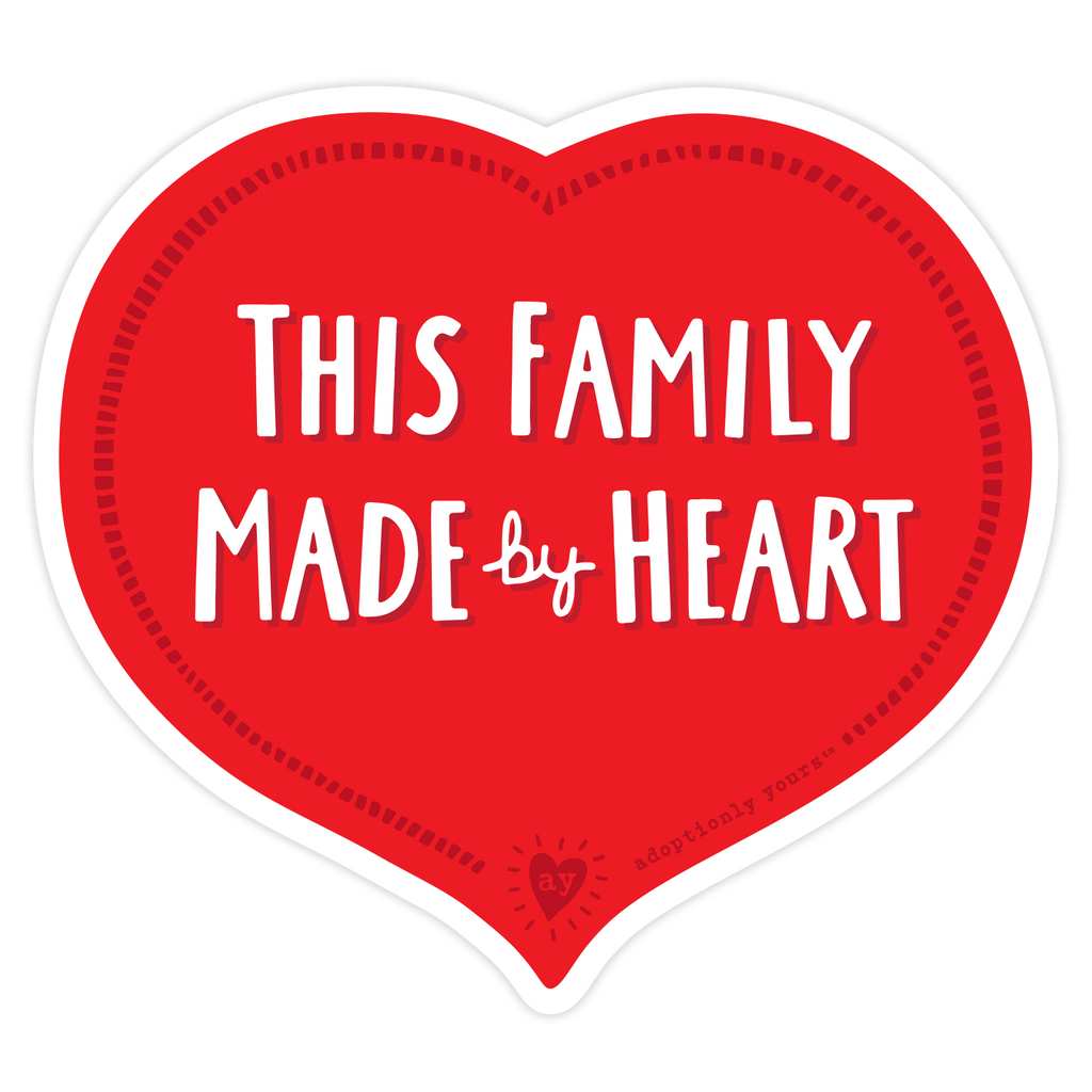 Family by Heart Sticker