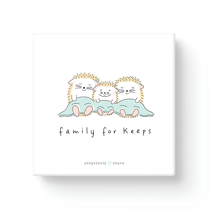 Family for Keeps Adoption Canvas