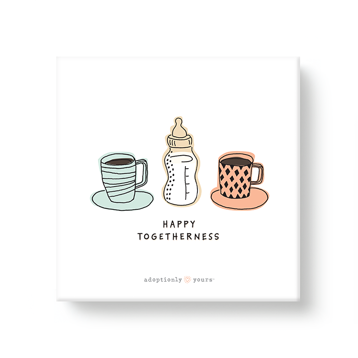 Happy Togetherness Adoption Canvas