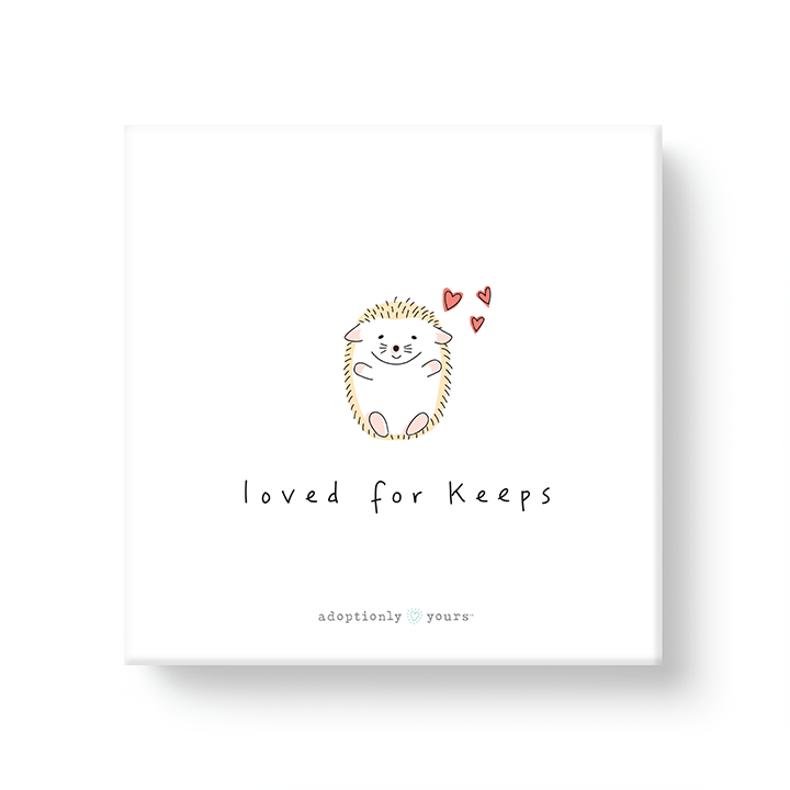 Loved for Keeps Adoption Canvas