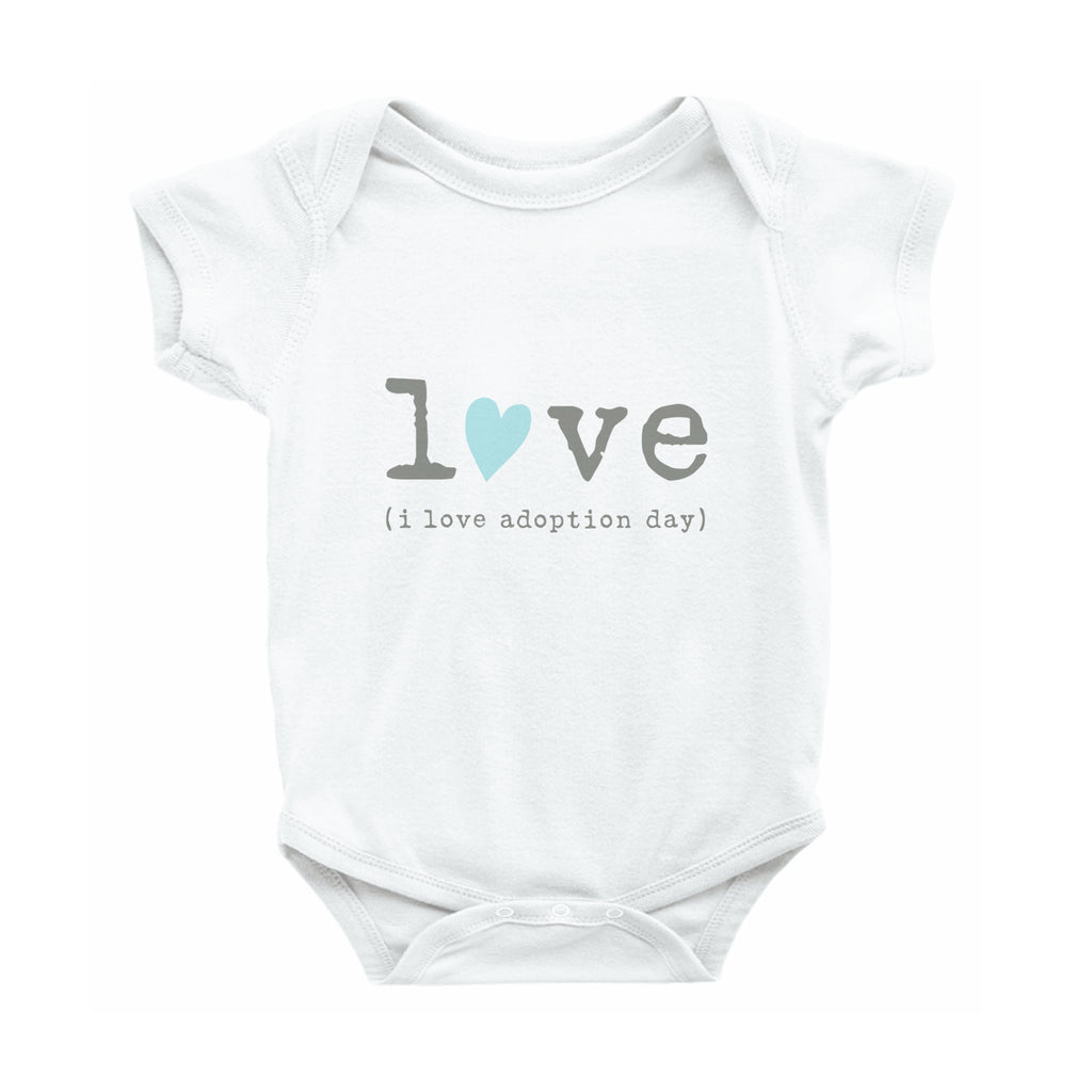 Adoption Day Love Onesie