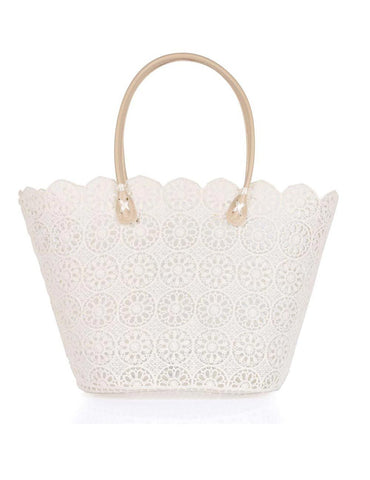 Women's Summer Lace Bag Trixy Cream