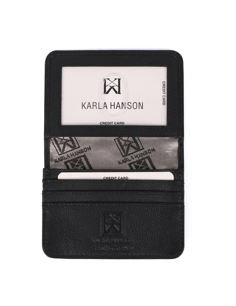 RFID Leather Card Holder Wallet - karlahanson.com