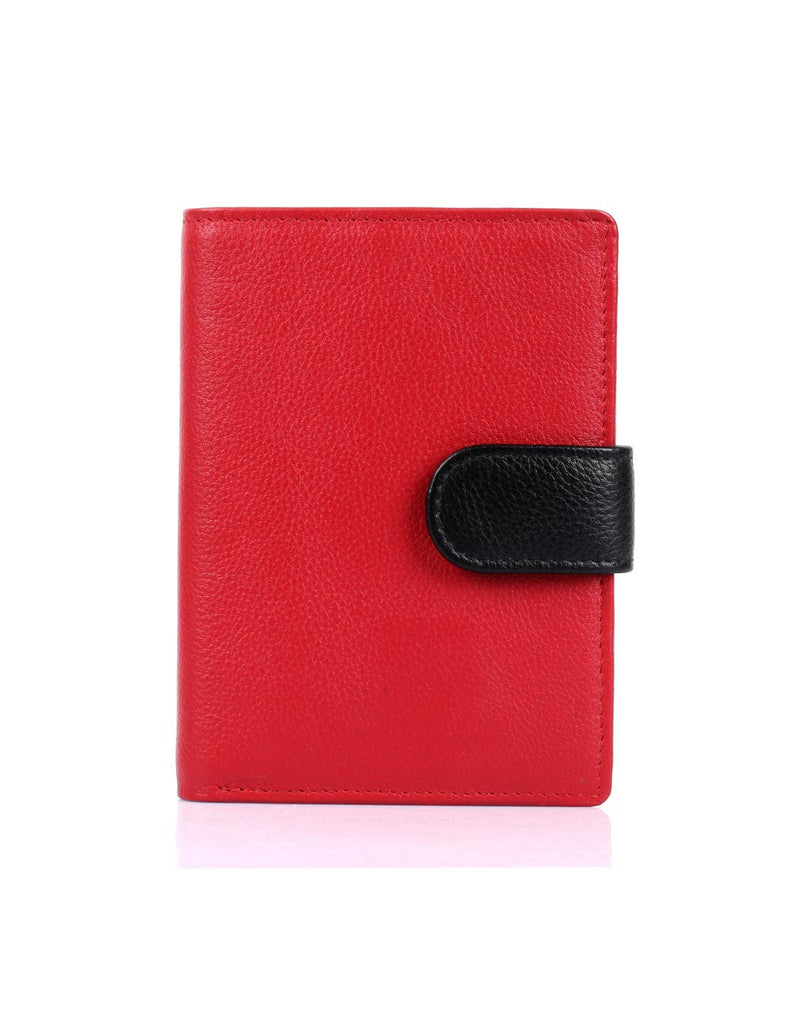 Women's RFID Leather Wallet with Tab Medium - karlahanson.com
