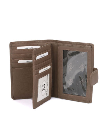 Women's RFID Leather Wallet Medium