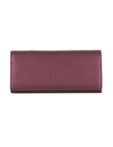 Women's RFID Leather Bifold Wallet More Colors - karlahanson.com