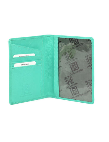 RFID Travel Leather Passport Holder More Colors - karlahanson.com
