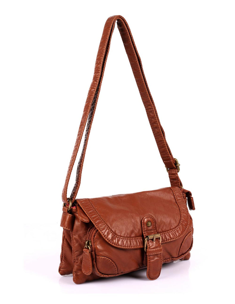 Charlotte Pre-Washed Women's Crossbody Bag V More Colors - karlahanson.com
