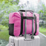 Pack n Fold Foldable Travel Duffel Bag Pink - karlahanson.com