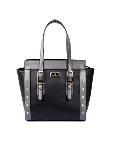 Julie Women's Tote Bag Black Grey - karlahanson.com