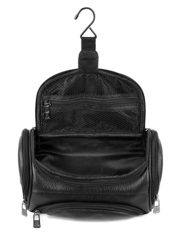Men's Hanging Travel Toiletry Bag Black