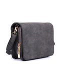 Linda Women's Crossbody Organizer Bag Heather Grey