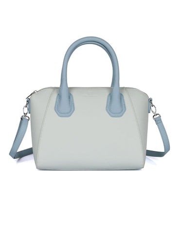 Grace Women's Satchel Bag with Strap Blue Tone - karlahanson.com