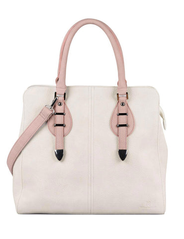 Shere Women's Shoulder Bag Ivory Pink - karlahanson.com