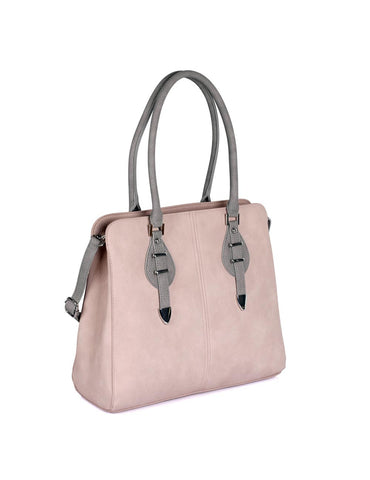 Shere Women's Shoulder Bag Pink Grey - karlahanson.com