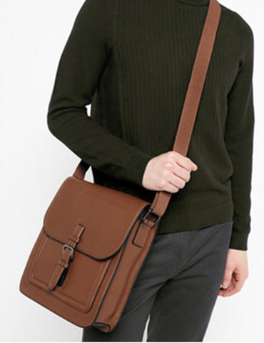 Men's Professional & Travel Messenger Bag Brown - karlahanson.com