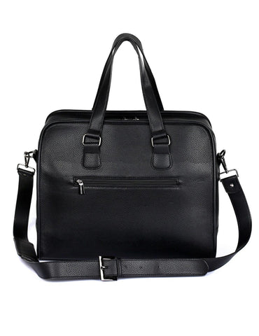 Men's Professional & Travel Duffel Bag Black Bronze Stripe - karlahanson.com
