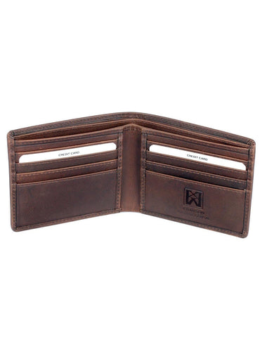 CANADA WILD Men's Hunter Leather Wallet Eagle - karlahanson.com