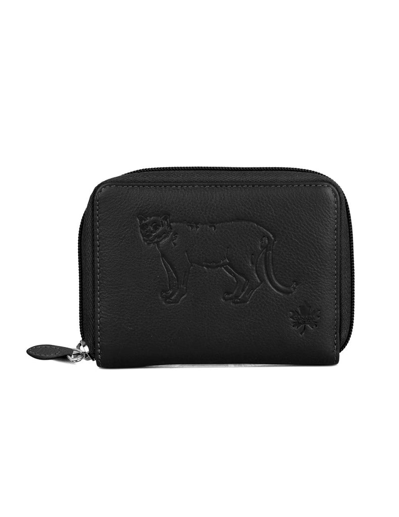 CANADA WILD Women's Leather Wallet Cougar - karlahanson.com
