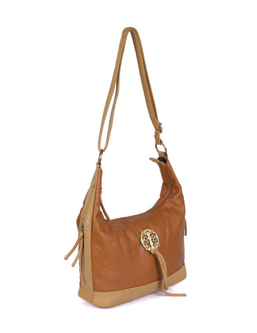 Avery Pre-Washed Women's Hobo Bag Tan - karlahanson.com