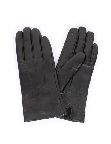 Women's Deluxe Leather Touch Screen Gloves - karlahanson.com