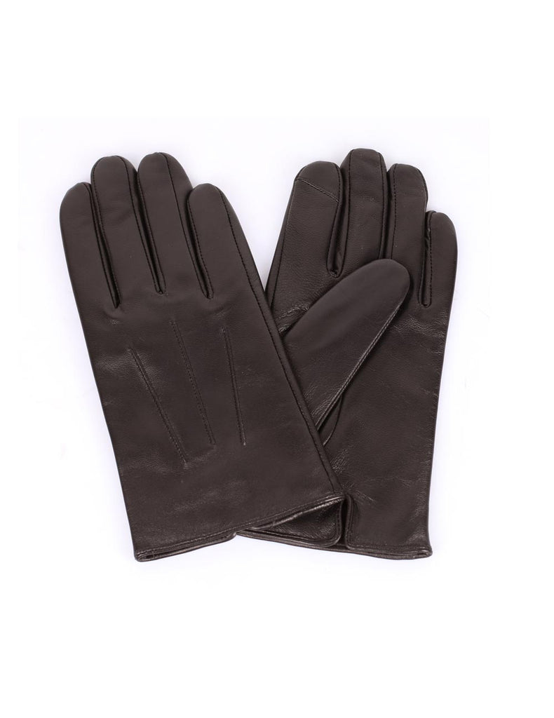 Men's Deluxe Leather Touch Screen Gloves - karlahanson.com