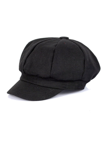 Women's Wool Cap Black One Size - karlahanson.com