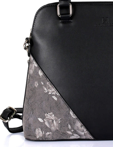 Leah Women's Satchel Bag Black - karlahanson.com