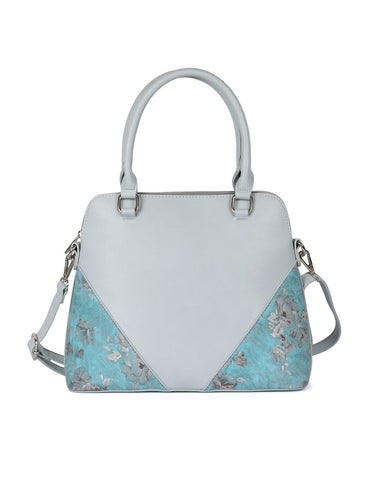 Leah Women's Satchel Bag Blue - karlahanson.com