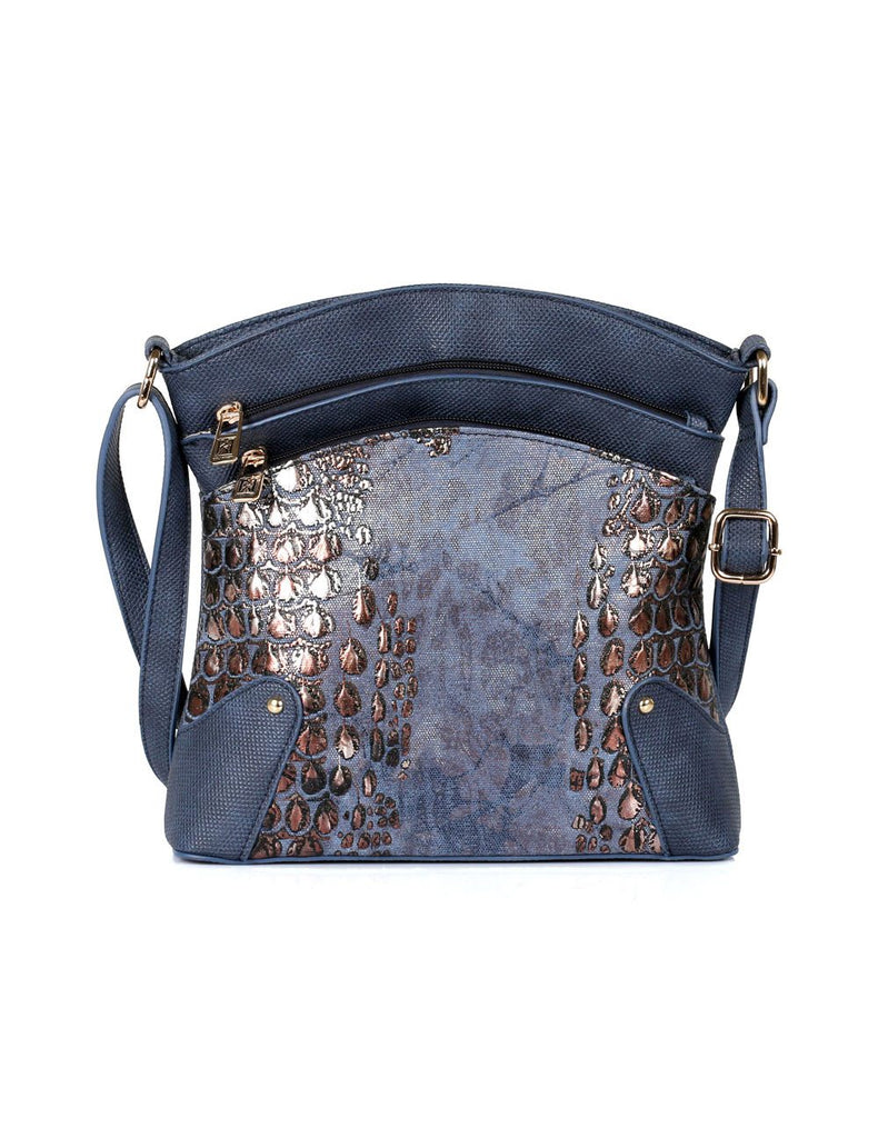 Eva Women's Crossbody Bag Navy - karlahanson.com