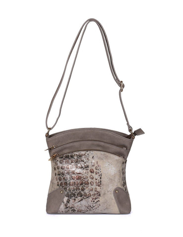 Eva Women's Crossbody Bag Beige - karlahanson.com