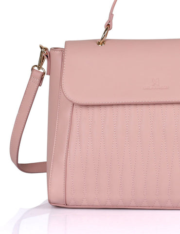 Claire Women's Satchel Bag Pink