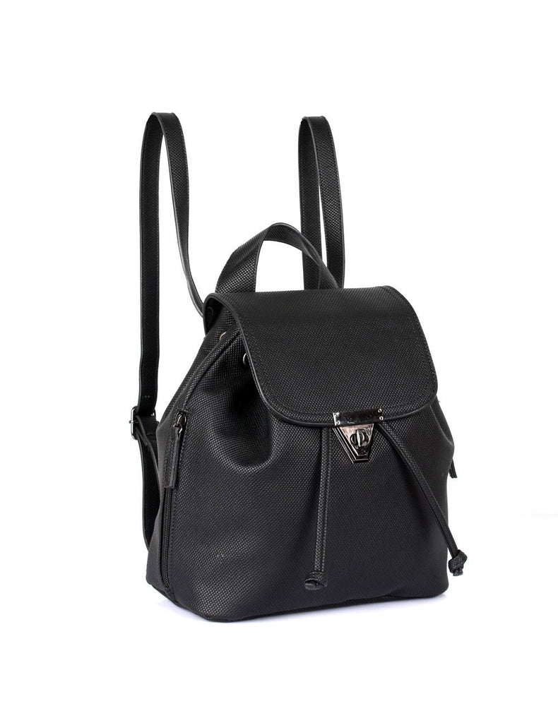 Hailey Women's 2 in 1 Backpack & Crossbody Bag Black - karlahanson.com