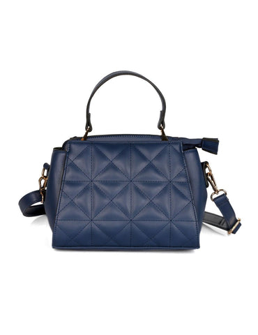 Florence Women's Quilted Crossbody Bag Navy