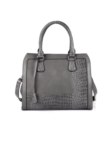 Elsie Women's Satchel Bag Grey - karlahanson.com