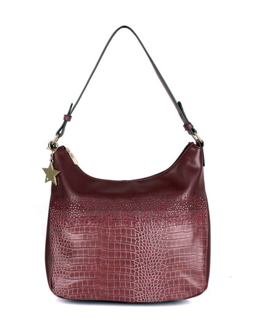 Phoebe Women's Hobo Bag Wine - karlahanson.com
