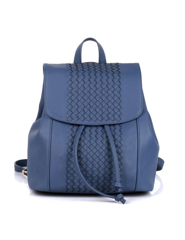 Matilda Women's Convertible Backpack & Crossbody Bag Blue - karlahanson.com