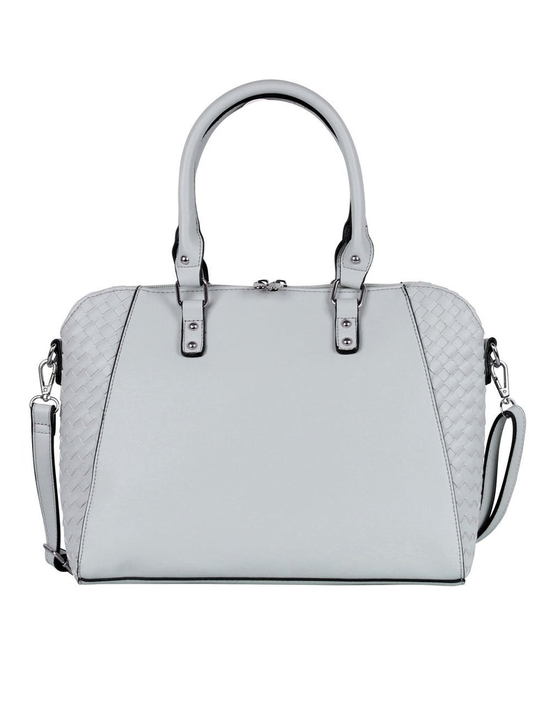 Tanya RFID Blocking Women's Satchel Grey - karlahanson.com