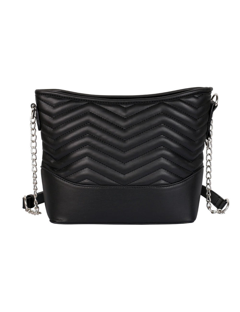 Sabrina RFID Blocking Women's Crossbody Bag Black - karlahanson.com