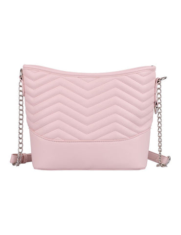 Sabrina RFID Blocking Women's Crossbody Bag Pink - karlahanson.com