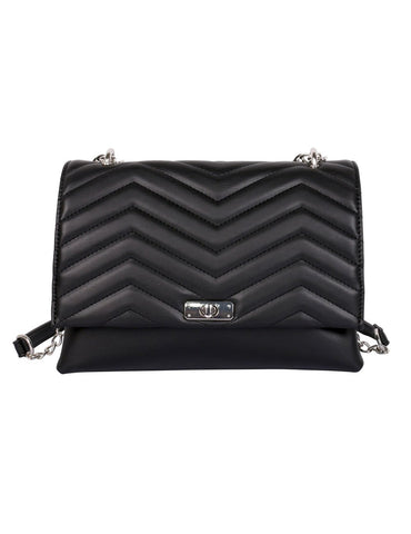 Sabrina RFID Blocking Women's Clutch Bag Black - karlahanson.com