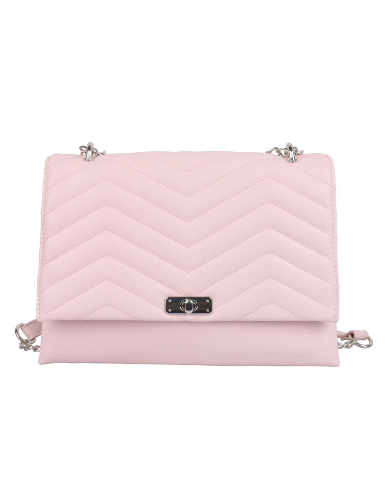 Sabrina RFID Blocking Women's Clutch Bag Pink - karlahanson.com