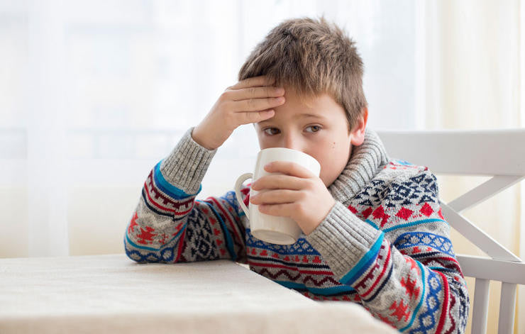 Herbal Teas as Support for Children's Emotions