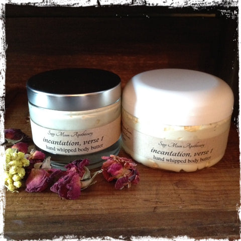 Incantation, Verse 1 - hand whipped body butter