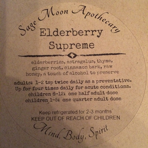 Elderberry Supreme Syrup