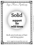 Solid : Support for Wild Times Oil and Gemstone Roller