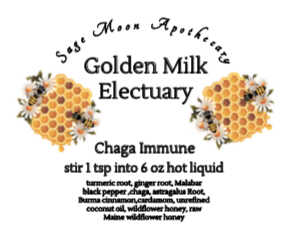 Golden Milk Electuary, Chaga Immune Blend
